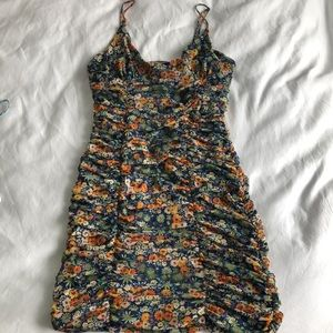Urban Outfitters ruched dress